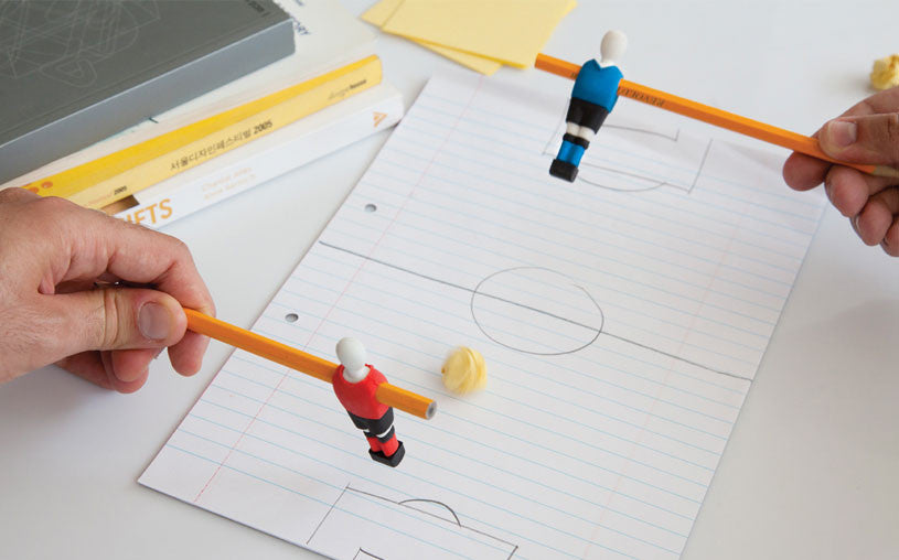 Peleg Design | Penball Football Erasers