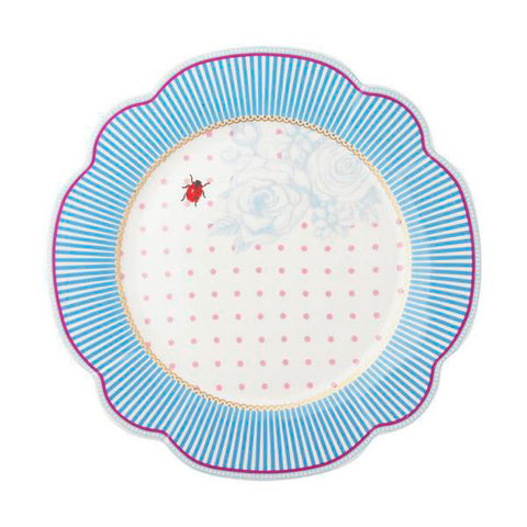 Lisbeth Dahl | Stripe and Ladybird Side Plate