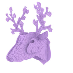 Miho Trophy Deer Head Plastic Frutti Di Bosco