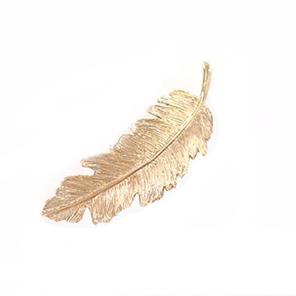 Set of 2 Hair Pin Leaf Clips