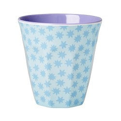 Rice DK Two Tone Melamine Cup Retro Stardust Print