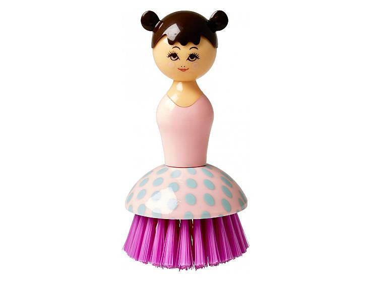 Rice DK Pink Doll Shaped Brush