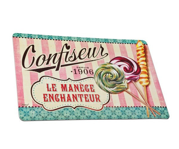 Set of 4 'Confiseur' Placemats | Natives