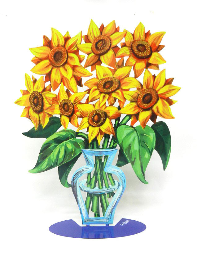 David Gerstein | Sunflowers from the new Flower Art collection by David Gerstein