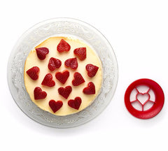 Peleg Design | Sweet Heart- Strawberry Cutter