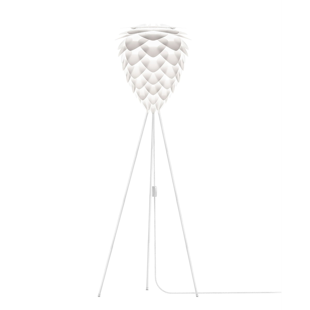 Umage Lighting | Floor white tripod stand