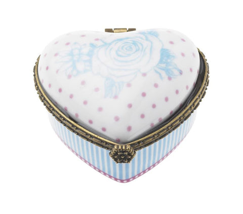 Lisbeth Dahl | Heart Shaped Ceramic Box