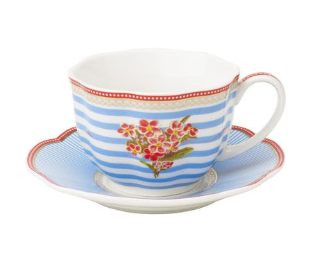 Lisbeth Dahl | Set of 2 Tea Seaside Porcelain Cups
