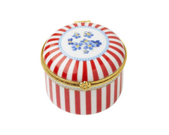 Lisbeth Dahl | Red Stripes Small Ceramic Box
