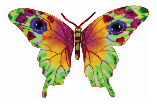 Multi color Vered Butterfly Sculpture