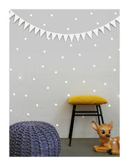 Wall Decal White Dot Stickers | Tayo Studio