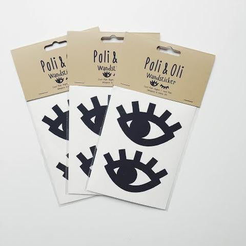 Poli & Oli | Wall Sticker Eyes