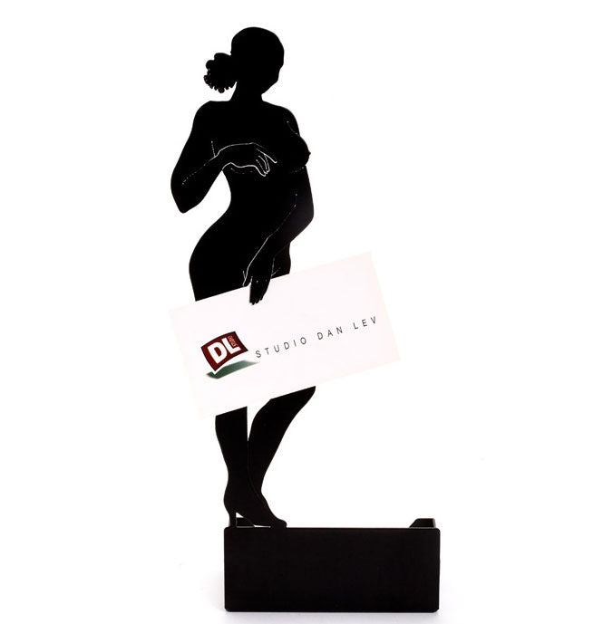 Artori Design | Naled Woman Business Card Holder - Black