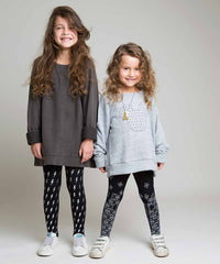 Zohara Opaque David Bowie Kids Print Tights