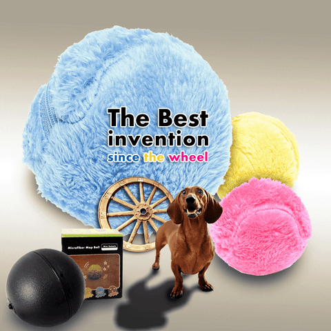 Magic Roller Ball Activation Automatic Ball Chew Plush Toy Nontoxic | Safe | Friendly use