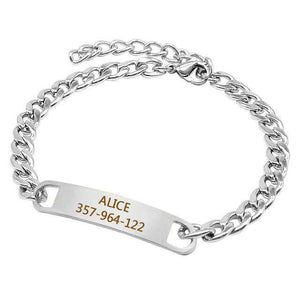 Personalized Chain Collar Customized