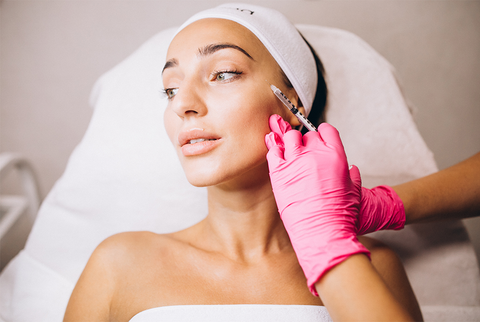 microneedling at the clinic