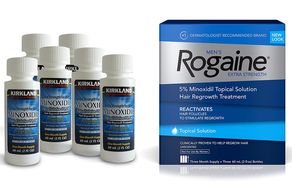 5% Minoxidil For Growing Loss
