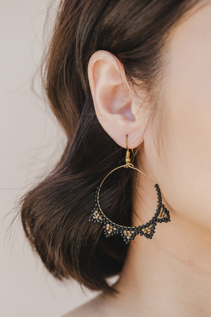 Tboli Hoops Outward Earrings