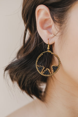 Tboli Hoops Inward Earrings