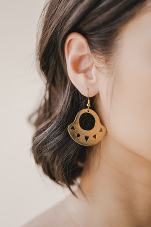 Mata K'daw Sun Earrings