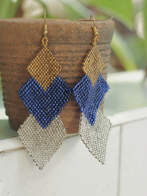 Hikong Bong Waterfall Earrings