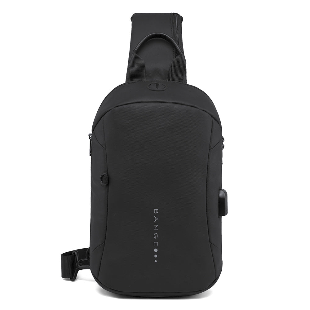 Bange USB Crossbody Chest Sling Bag