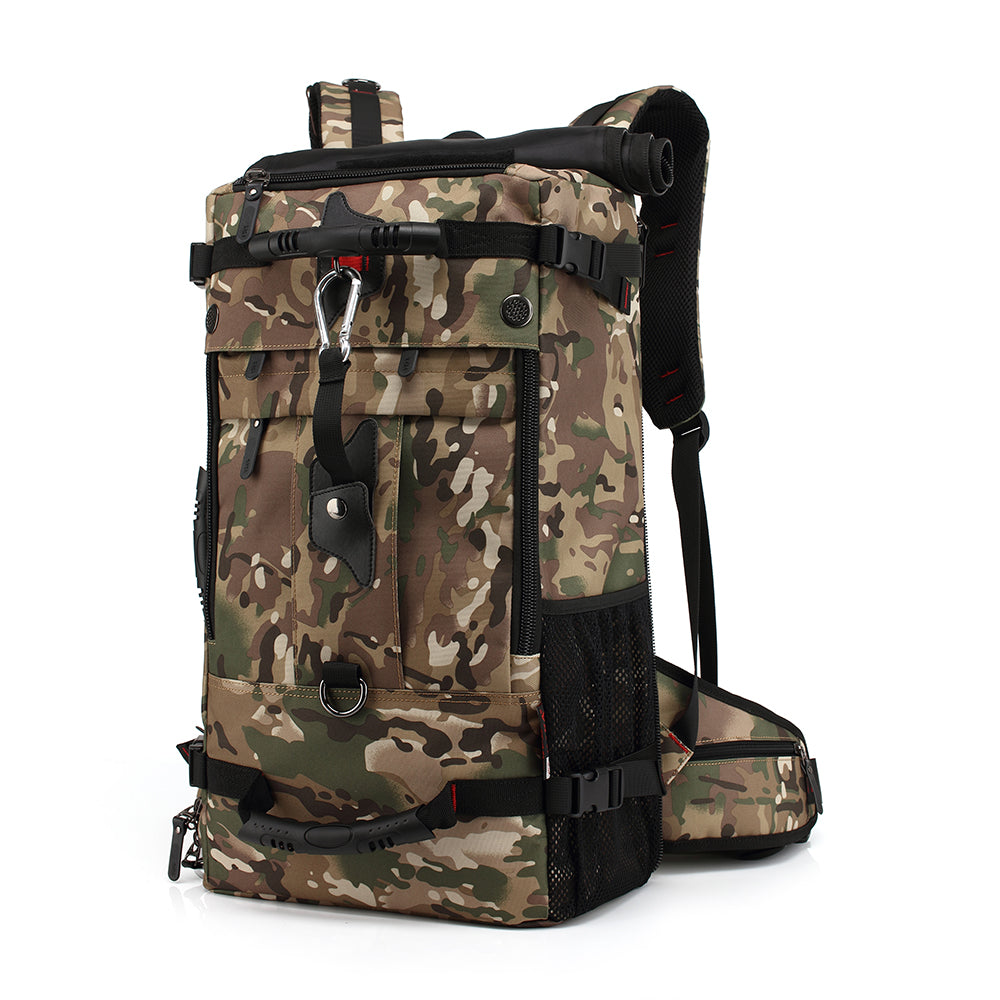 Hiking and Fishing backpack 40L Camo