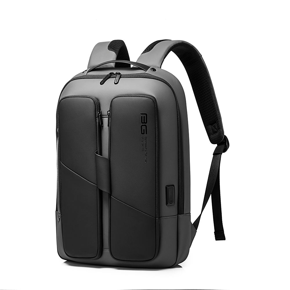 Bange City Student's laptop 15.6 inch USB Backpack Black