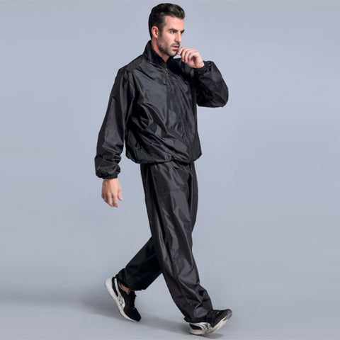 Black Weight Loss Sauna Suit