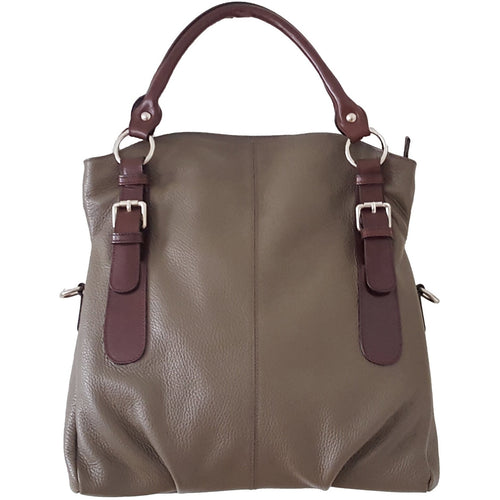 Bendixen Folding Bag front - Olive