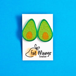 FAT MANGO CREATIVE - All I Avo Wanted Avocado Studs