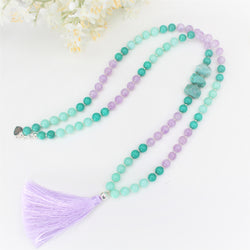 CALISTA ROSE DESIGNS - Beaded Gemstone Necklace - Breezy