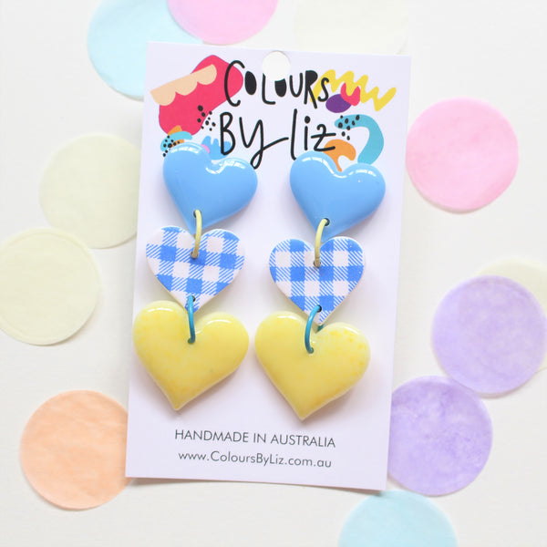 CANDYLICIOUS - Heart Dangles