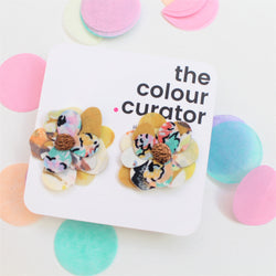 THE COLOUR CURATOR - Blooming Happy Studs