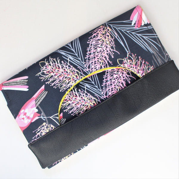 KATHERINE BY KATHERINE - Galahs Handle Clutch