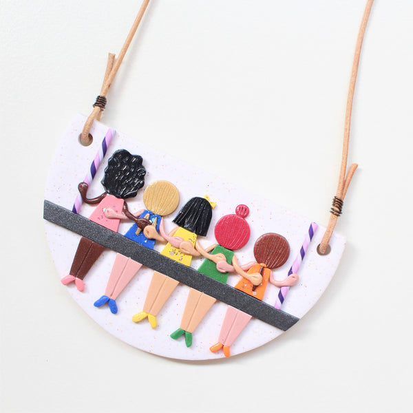 SPECIAL EDITIONS - Girls Supporting Girls - Pendant Necklace