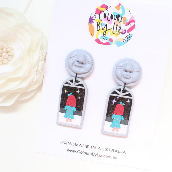 Special Editions - PLAY THOUGH x COLOURS BY LIZ - Moon Chats (Grey)