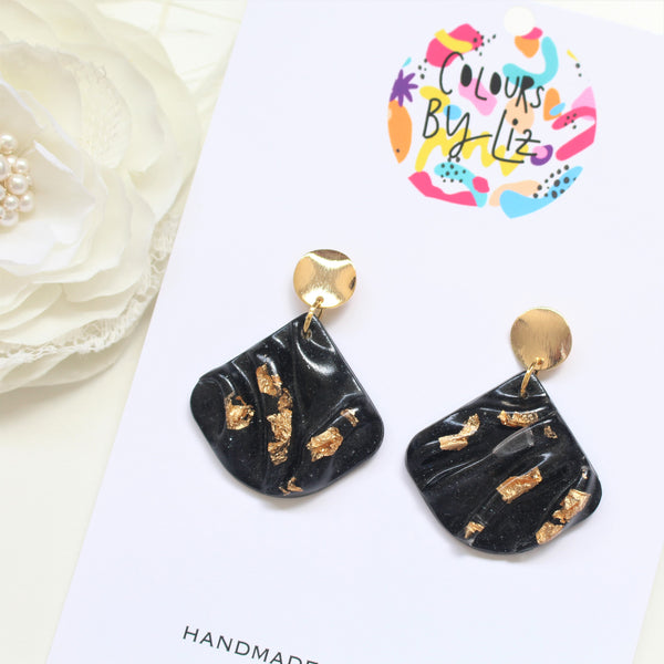 RESIN LUXE COLLECTION - Fan Dangles
