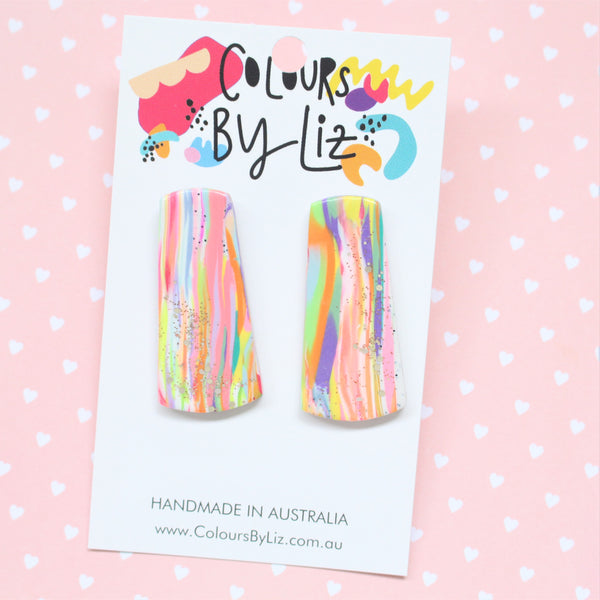 RAINBOW PARTY - Statement Studs