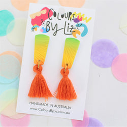 SUNSET - Mini Tassel Dangles