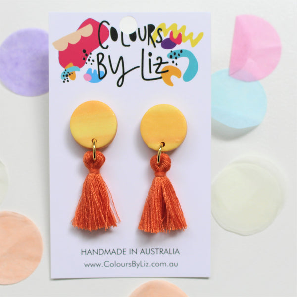 WATERCOLOUR - Mini Tassel Dangles