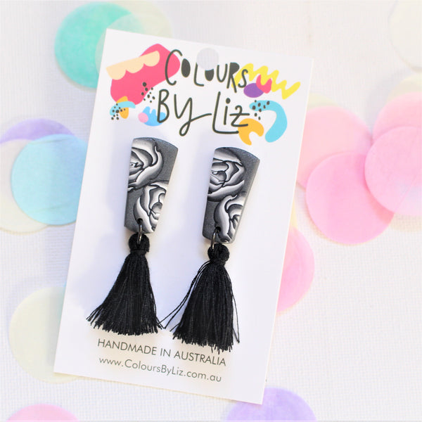 LIFE IN MONO - Mini Tassel Dangles