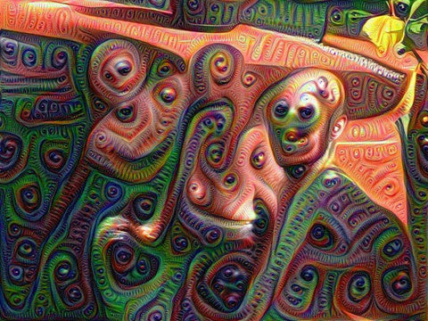 DeepDream creates psychedelic images