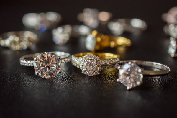 Three Styles of Diamond Engagement Ring