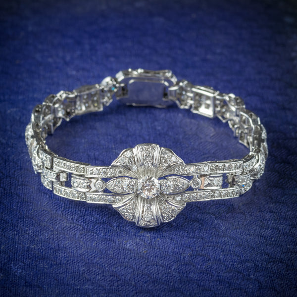 Diamond Bracelet Platinum 0.60ct Diamond cover