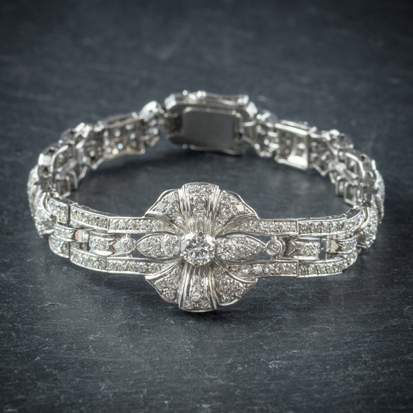 Diamond Bracelet Platinum 0.60ct Diamond front
