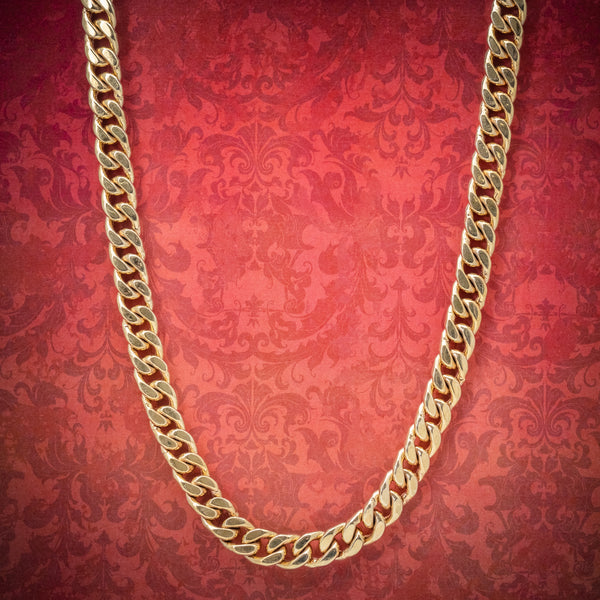 Solid Silver Chain 14ct Yellow Gold Plated Necklace cover