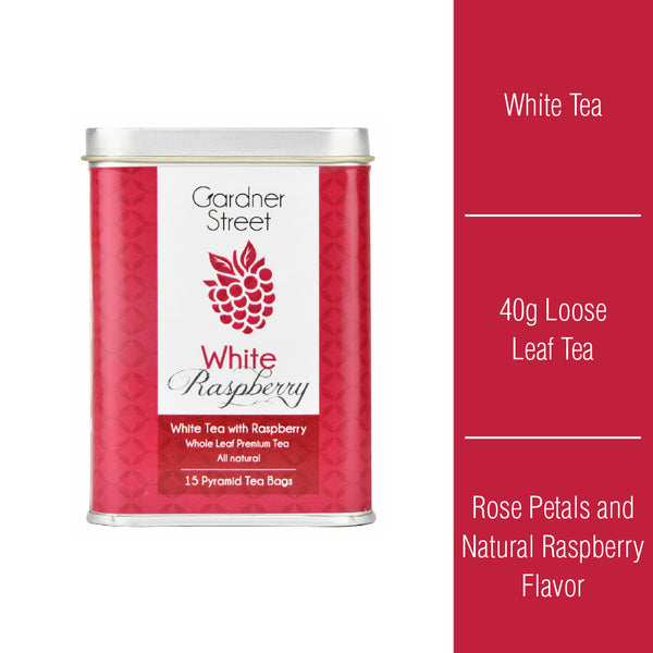 White Raspberry - 40 grams Loose Tea