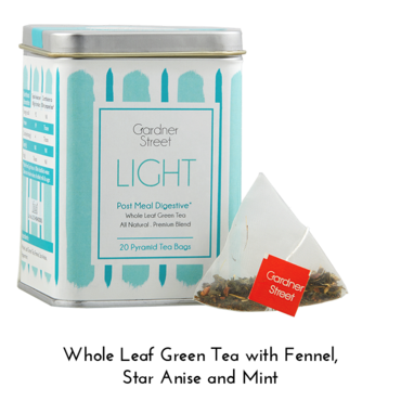 Light - 20 Pyramid Tea Bags